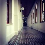 Abbortsford Convent hallway